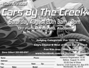 Cars By The Creek -Montevallo, AL