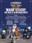 17th Annual Marie Ussery Toy Run & Scavenger Hunt, Griffin, GA