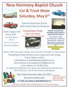 New Harmony Baptist Church Car & Truck Show Cumming,Ga