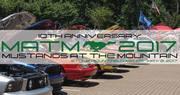 Annual Mustangs at the Mountain Car Show -Stone Mountain, GA