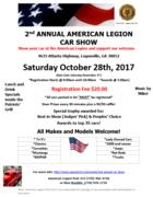 2nd Annual American Legion Car Show Loganville, GA
