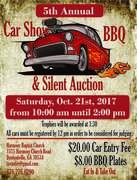 Harmony Baptist Church Car Show, BBQ and Silent Auction