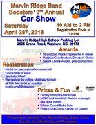 9th Annual Marvin Ridge Band Boosters' Car Show, Waxhaw, NC