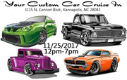 Your Custom Car LLC Cruise-In November 2017