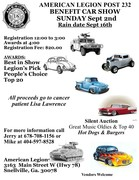 American Legion Post 232 Benefit Car Show -Snellville GA