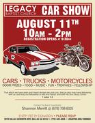 Legacy Baptist Church Car Truck & Motorcycle Show Dallas, Ga