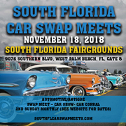 South Florida Car Swap Meets and Car Show