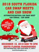 Christmas South Florida Car Swap Meets and Car Show