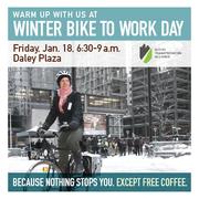 Winter Bike to Work Day 2013