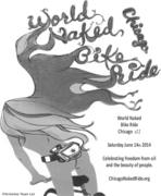 World Naked Bike Ride - Chicago #11