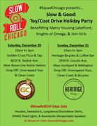 #SquadChicago presents... Slow & Good: Toy/Coat Drive Holiday Party