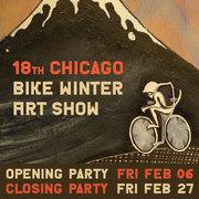 18th Chicago Bike Winter Art Show