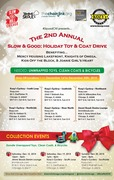 Collection Event #3... Slow & Good: Holiday Toy & Coat Drive