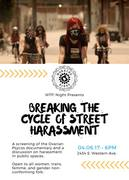 WTF! Night Presents Breaking the Cycle of Street Harassment