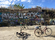 Graffiti and Gears Adventure Cycling Tour