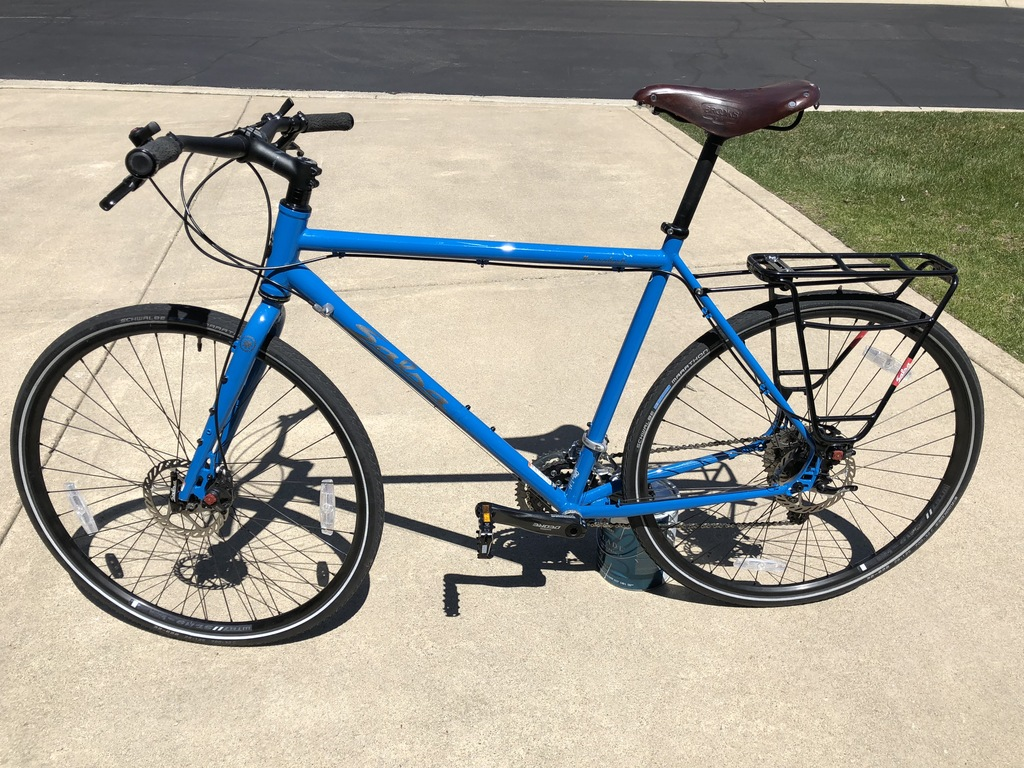 Awesome Salsa Marrakesh Deore Flat Bar Touring Bike For Sale