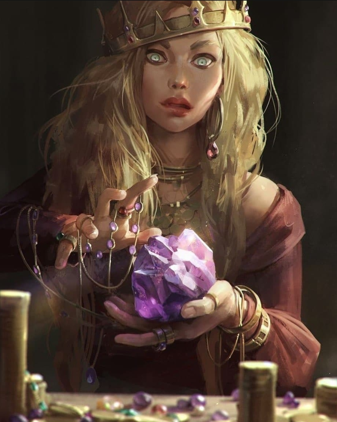 Enchanter, come to see. Enchanter, can you see?