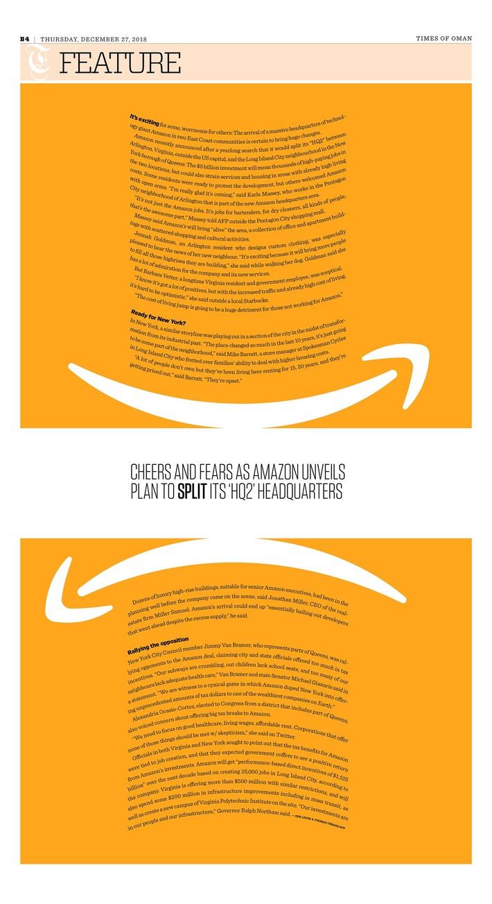 Amazon split