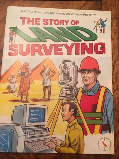 The Story of Land Surveying Coloring Book