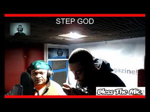 Bless The Mic TV Ciphers Reggae -  STEP SON
