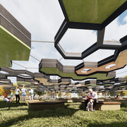 Hexagon Shade Pavilion