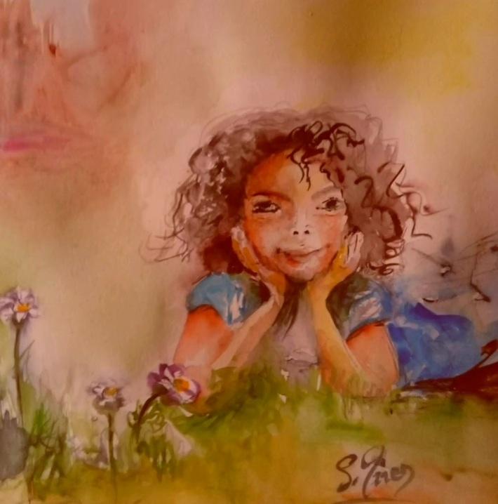 "Sur l'oeuvte ""Morgane"" de Sylviane Joséphine Tirez: Le grand voyage (par Adelbert)"