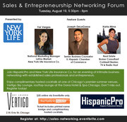Sales & Entrepreneurship Networking Forum presented by New York Life Insurance Co.