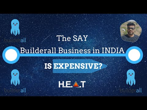 They Say Builderall Business in India Is Expensive