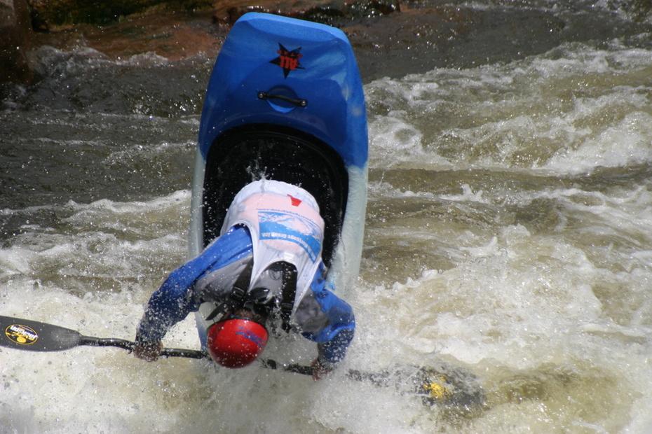 Men's pro kayak competitor