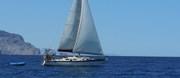 Motor sailing in Sea of Cortez