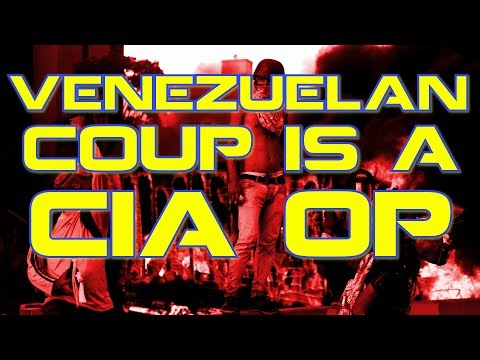 Venezuelan Coup is a CIA op. Here's why.