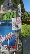 Bills Street art - Sunset Junction Sunset Blvd. and Sanborn Ave. Silver Lake Los Angeles