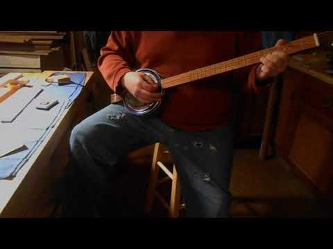 4 String Cookie Tin Resonator