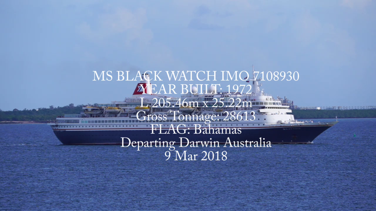 MS BLACK WATCH IMO-7108930