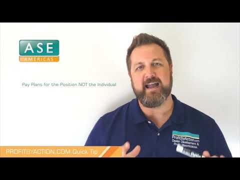 Profit By Action Quick Tip: Pay Plans