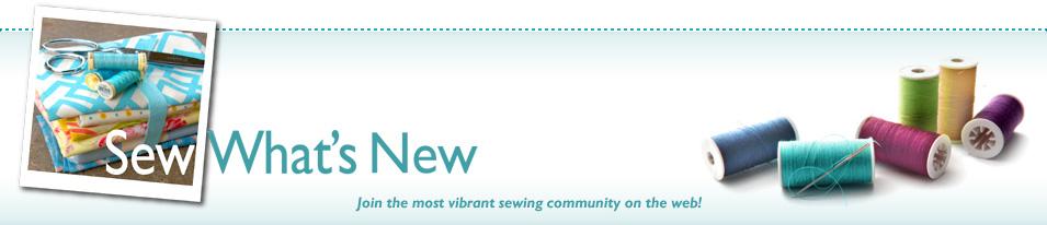 Sew, What's New?
