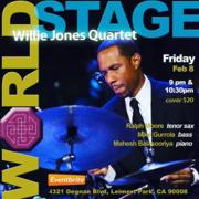 "WILLIE JONES lll Quartet ""Black History Month"""