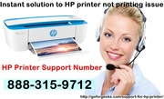 Instant solution to HP printer not printing issue