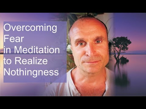 Overcoming Fear in Meditation to Realize Nothingness - Shoonya