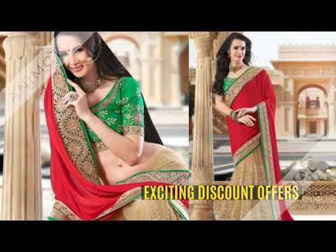 Latest Designer Net Sarees Collection 2019