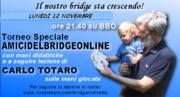 torneo AMICIDELBRIDGEONLINEw/ mani didattiche e lezione di Carlo Totaro