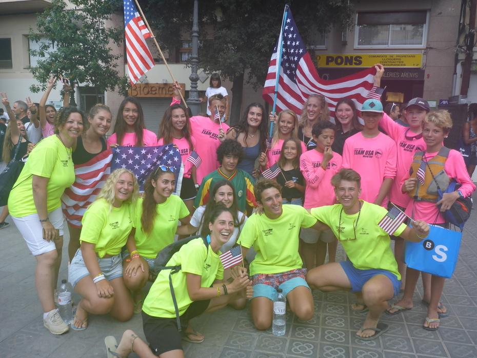 HKBC's Team USA & event volunteers- Spain 2019