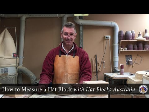 How to Measure a Hat Block with Hat Blocks Australia