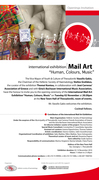 human-colours-music - International mail art exhibition - Thessaloniki 2010
