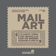PLANET EARTH IS A LARGE ISLAND WITH A HUGE OCEAN AROUND - Cabana Mail Art Projects- Exhibition
