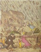 """""""The happy day that  animals rained""""   THE END OF THE WORLD, Maya 21/12/2012"""