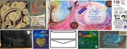 Simultaneous mail art exhibition project