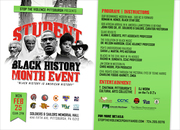 STUDENT BLACK HISTORY MONTH EVENT