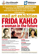 mail art call: FRIDA KAHLO A WOMAN IN THE FUTURE