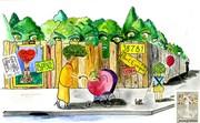 """Mail-art pour """"une vie, un arbre"""""""